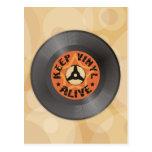 Keep Vinyl Alive Post Cards