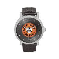 Keep Vinyl Alive Wrist Watches