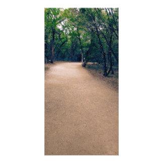 Keep Walking Photo Card