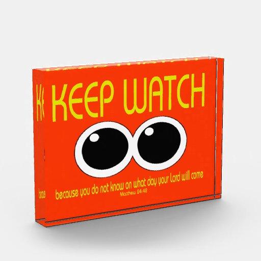 KEEP WATCH - Matt 24:42 Award