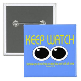 KEEP WATCH - Matt 24:42 Button