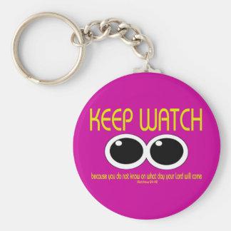 KEEP WATCH - Matt 24:42 Keychain