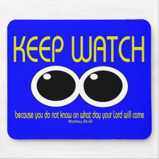 KEEP WATCH - Matt 24:42 Mouse Pad