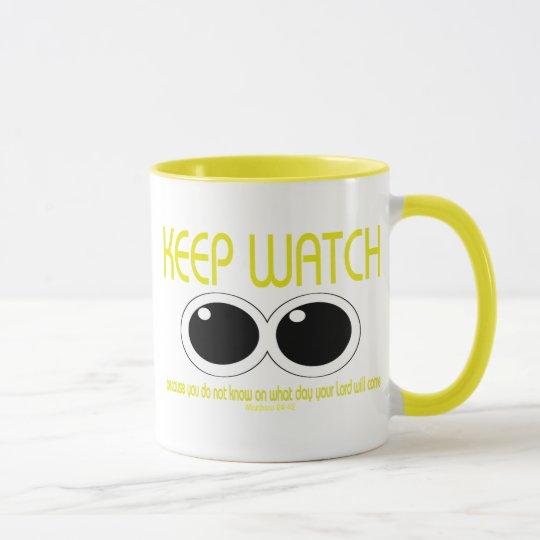 KEEP WATCH - Matt 24:42 Mug