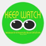 KEEP WATCH - Matt 24:42 Sticker