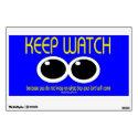 KEEP WATCH - Matt 24:42 Wall Graphic