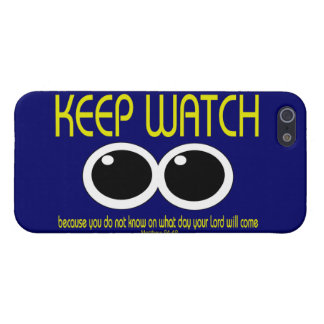 KEEP WATCH - Mhew 24:42 iPhone SE/5/5s Case