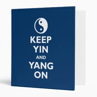 Keep Yin and Yang On Binder