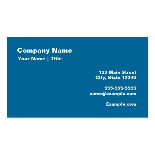 Keep Yin and Yang On Business Card