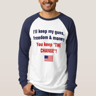 keep you guns t shirt