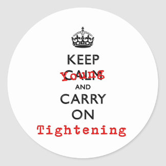 KEEP YOUNG CLASSIC ROUND STICKER