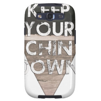 Keep Your Chin Down - since 1914 Galaxy S3 Case