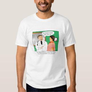 Keep Your Chin Up Cartoon T-shirt