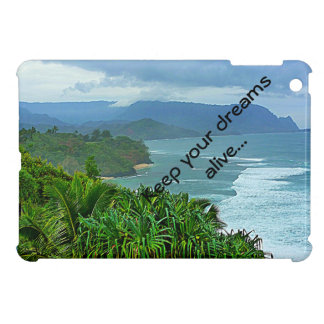 Keep your dreams alive with sweeping landscape iPad mini cover