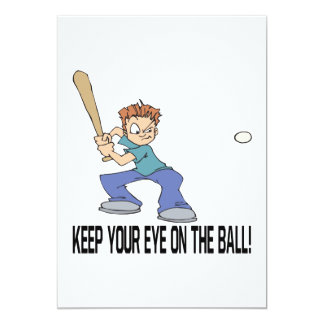 Keep Your Eye On The Ball Card