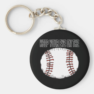 Keep Your Eye On The Ball Keychain