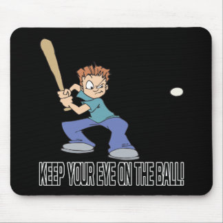 Keep Your Eye On The Ball Mouse Pad