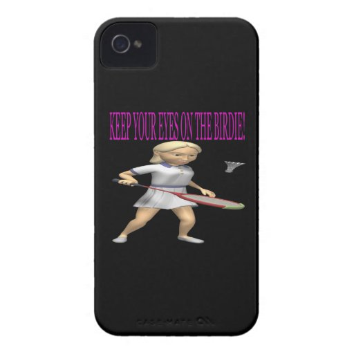 Keep Your Eyes On The Birdie iPhone 4 Case-Mate Cases