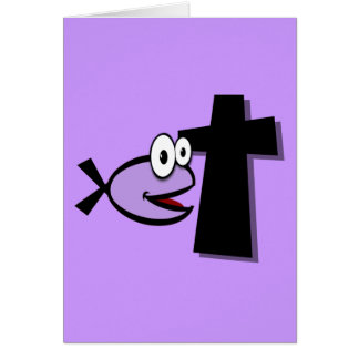 Keep Your Eyes on the Cross Card