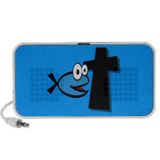 Keep Your Eyes on the Cross Travel Speakers