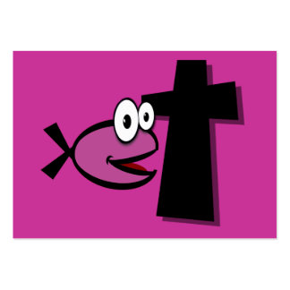 Keep Your Eyes on the Cross Tract Cards / Business Card Template