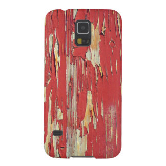 Keep your eyes peeled, peeling paint in red. cases for galaxy s5