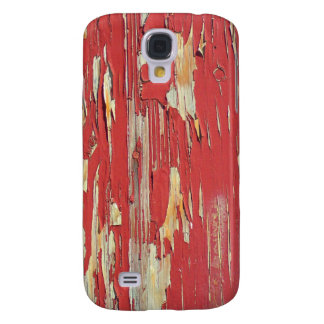Keep your eyes peeled, peeling paint in red. galaxy s4 covers