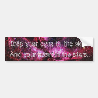 """""""Keep Your Eyes to the Skies"""" Bumper Stickers V"""