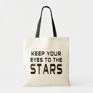 Keep Your Eyes To The Stars Tote Bag
