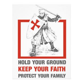 Keep Your Faith, Protect Your Family Letterhead