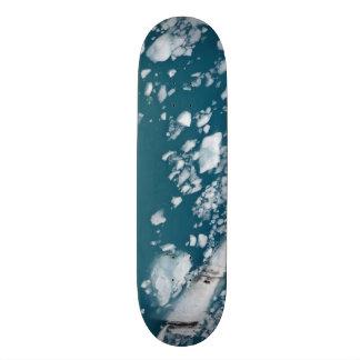 Keep your feet cool on Icebergs! Skateboard