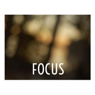 Keep Your Focus Postcard
