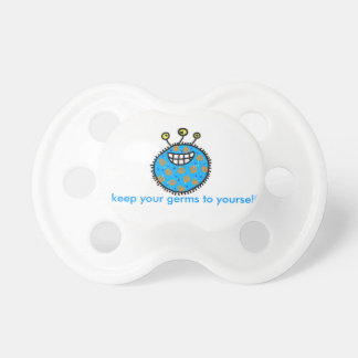 Keep Your Germs to Yourself Pacifier BooginHead Pacifier