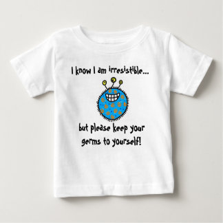 Keep your germs to yourself! tee shirt