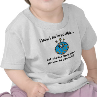 Keep your germs to yourself! t shirts