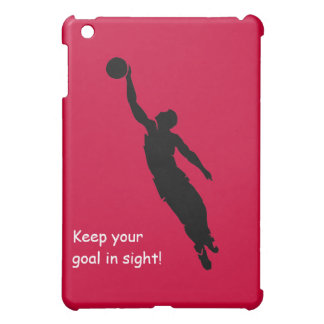 Keep your goal in sight! iPad mini case