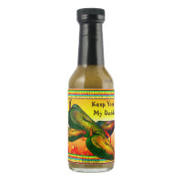 Keep Your Hands Off My Daddies Classic Jalapeno Hot Sauce