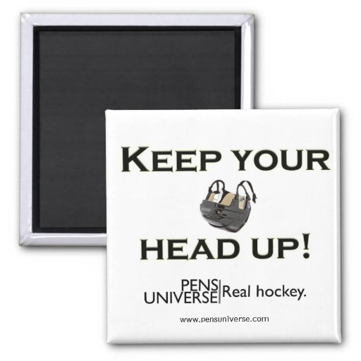 Keep Your Head Up 2 Inch Square Magnet