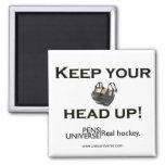 Keep Your Head Up Fridge Magnet