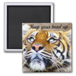 Keep your head up_Magnet 2 Inch Square Magnet