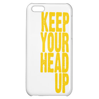 Keep Your Head Up (sunshine yellow) Cover For iPhone 5C