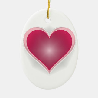 """""""Keep Your Heart Glowing"""" Ornament"""