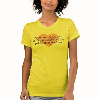 Keep your heart open - Woman's Tee