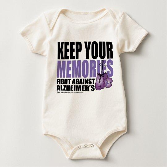 Keep Your Memories Baby Bodysuit