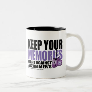 Keep Your Memories Two-Tone Coffee Mug