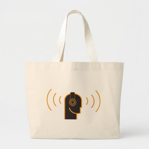 Keep Your Music Loud Tote Bags