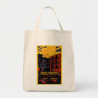 Keep Your Neighbohood Clean Tote Bag