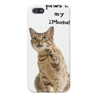Keep your paws off my ! cases for iPhone 5