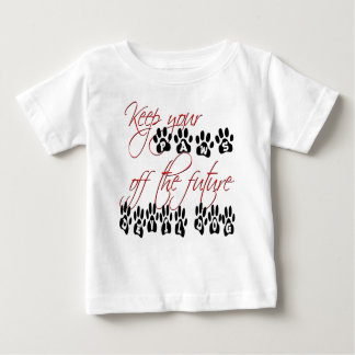 Keep your paws off the future devil dog shirt
