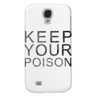 Keep Your Poison Samsung Galaxy S4 Cover